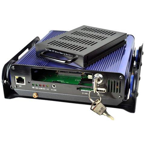 Автомобильный видеорегистратор на 4 камеры MDR5045 Превью 1