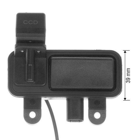 Камера заднего вида в ручку багажника для Mercedes-Benz B, E-класса Превью 3