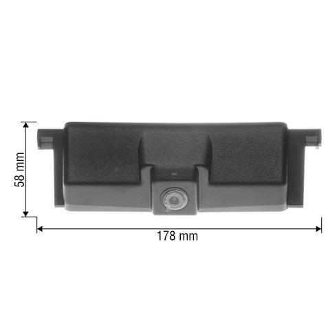 Камера заднего вида в ручку багажника для Ford Edge 2015-2017 г.в. Превью 1