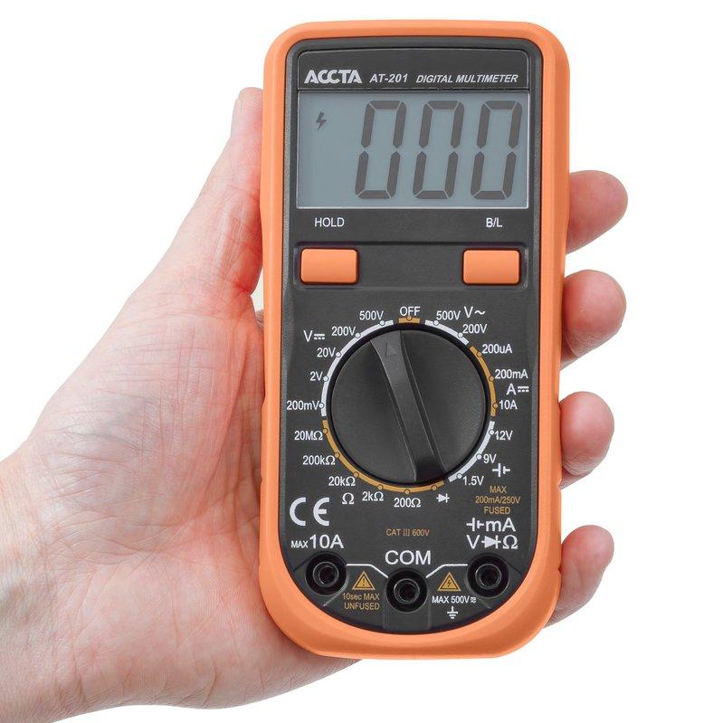 Цифровий мультиметр Accta AT-201 Зображення 7