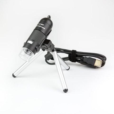 Цифровий USB-мікроскоп Microsafe ShinyVision MM-2288-5X-BN Прев'ю 1