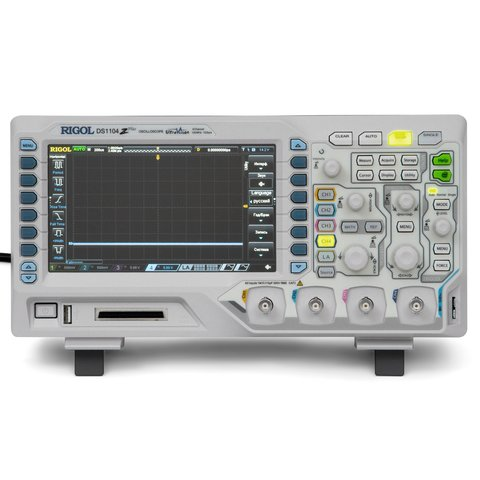 Цифровий осцилограф RIGOL DS1104Z-S Plus Прев'ю 4