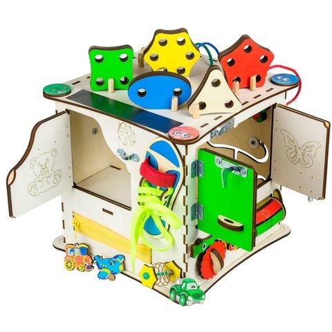 Бизиборд GoodPlay Развивающий кубик (25×25×25) Превью 6